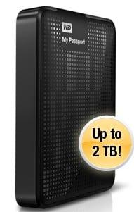 капацитета за съхранение Външен хард диск