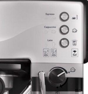 контрол еспресо машина панел