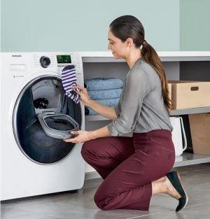 Специални функции перални машини