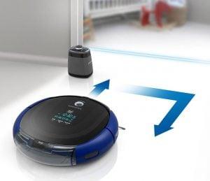 Автоматично почистване с робот прахосмукачка