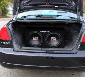 Качество на звука субуфер за кола