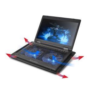 Лаптоп охладител големи фенове