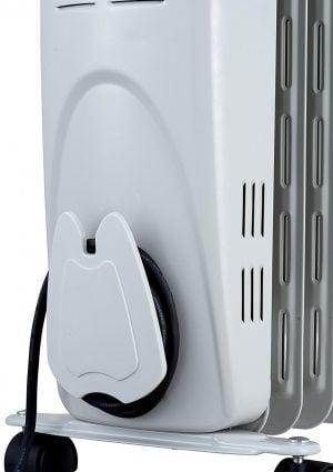 Електрически радиатор за съхранение на кабел