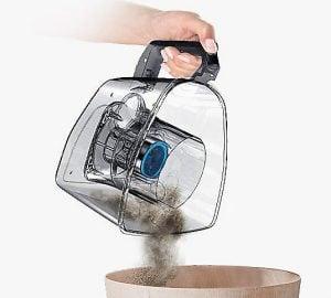 лесен празен контейнер за прах