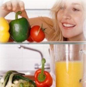 Модерен кухненски хладилник
